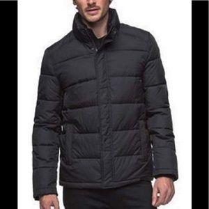 Andrew Marc full zip puff coat M
